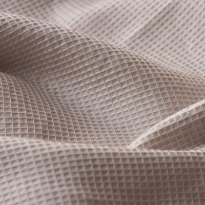 ボックスシーツ ダブル 綿100% おしゃれ 北欧 ハニカム 140×200×30cm ベッドシーツ かわいい マットレスカバー