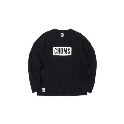 チャムス(CHUMS) ボートロゴ 長袖Tシャツ CH01-1284-K001 (メンズ)