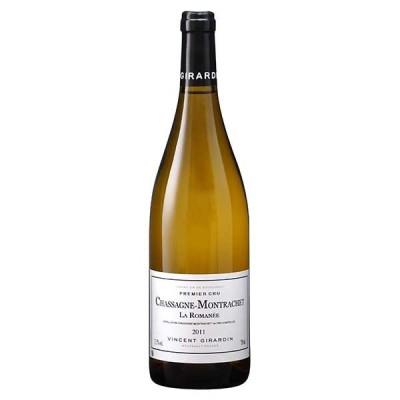 白ワイン ヴァンサン ジラルダンシャサーニュ モンラッシェ ブラン プルミエ クリュ ラ ロマネ 750ml (稲葉 フランス 白ワイン FB876) wine