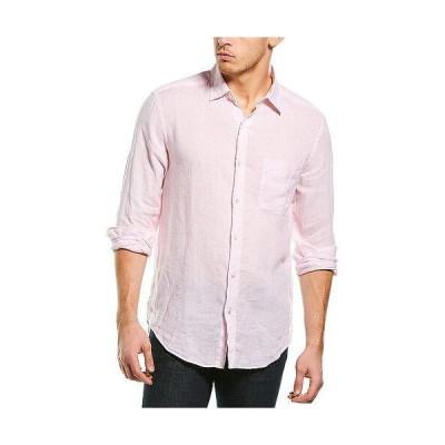 メンズ ファッション  J.McLaughlin Gramercy Linen Woven Shirt