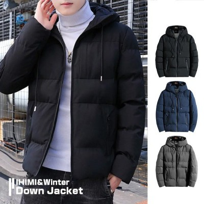 ジャケット 中綿ジャケット ブルゾン メンズ アウター 中綿ダウンジャケット アウトドア フード付き 暖かい あったか 防寒 大きいサイズ