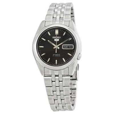 セイコー 腕時計 Seiko Series 5 Automatic Black Dial メンズ Watch SNK361