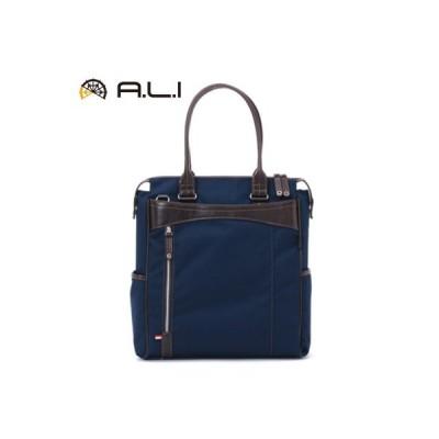 A.L.I ビジネスバッグ ビジネスカジュアル CORDURA AG-1404-NV ネイビー【100サイズ】