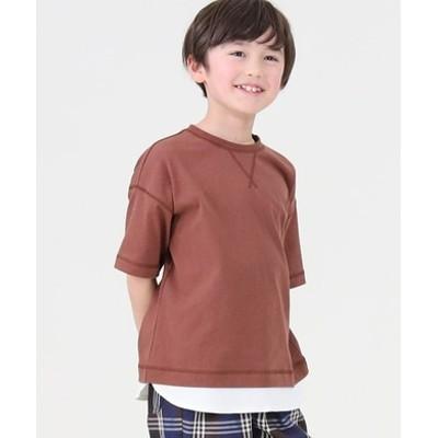 フェイクレイヤードTシャツ