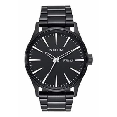 腕時計 ニクソン アメリカ Nixon Sentry SS A356001-00. All Black Men's Watch (42mm Black Watch Case