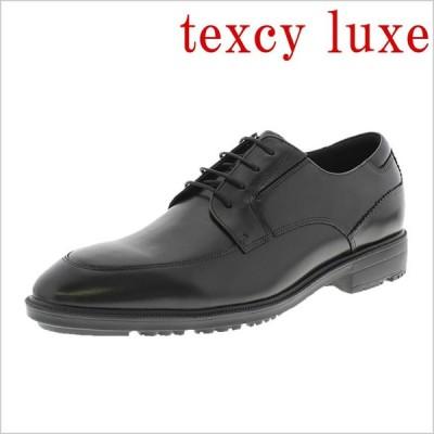 レースアップシューズ texcy luxe テクシーリュクス 革靴 紳士靴 メンズ 本革 牛革 ビジネスシューズ 黒 ブラック 紳士用 メンズ シューズ