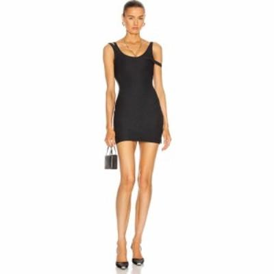 ラクアンスミス LaQuan Smith レディース ワンピース ミニ丈 ワンピース・ドレス for FWRD Layered Mini Dress Black
