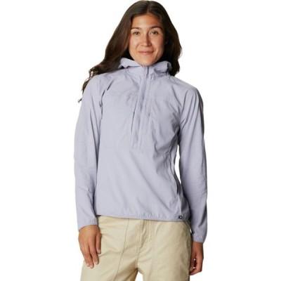 マウンテンハードウェア Mountain Hardwear レディース ジャケット フード アウター Echo Lake Hooded Jacket Frost Grey