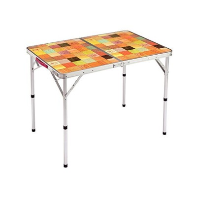 コールマン(Coleman) テーブル ナチュラルモザイクリビングテーブル90プラス ベージュ 90cm 2000026752