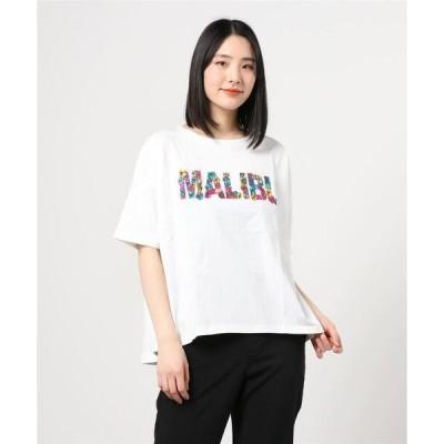 tシャツ Tシャツ ANTIBAL/アンティバル   MALIBUフラワーロゴ   Tシャツ  212AN2ST045