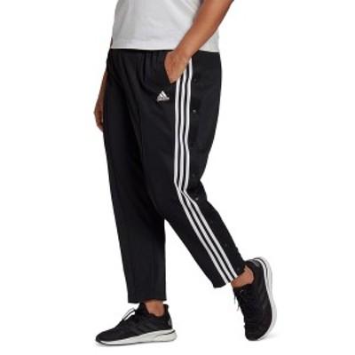 アディダス レディース カジュアルパンツ ボトムス Plus Size Side-Snap Pants Black