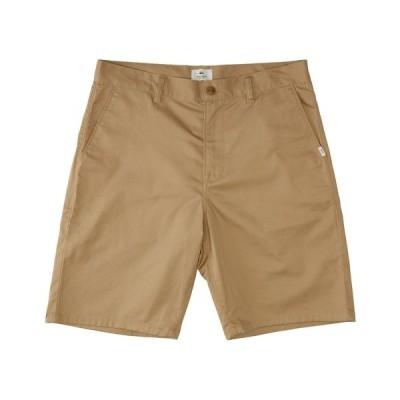 クイックシルバー カジュアルパンツ ボトムス メンズ Men's Crest Chino Shorts Plage