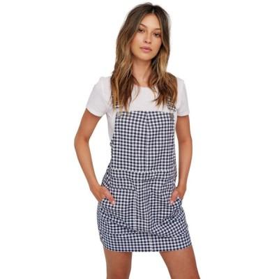 ボルコム Volcom レディース ワンピース ワンピース・ドレス Georgia May Jagger Frochickie Overall Dress Midnight Blue