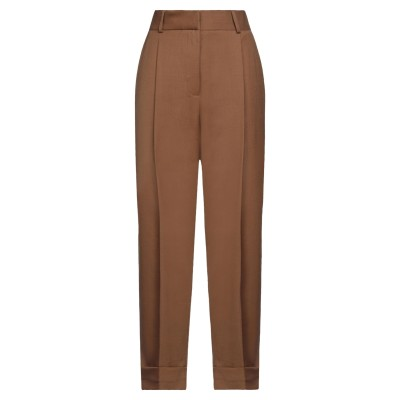 OTTOD'AME パンツ キャメル 38 バージンウール 89% / ナイロン 9% / ポリウレタン 2% パンツ
