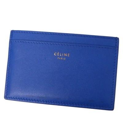 CELINE カードケース ブルー サイズ:- (渋谷神南店) 200329