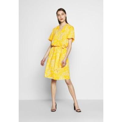 サントロペ レディース ワンピース トップス LOUISA DRESS - Day dress - yellow yellow