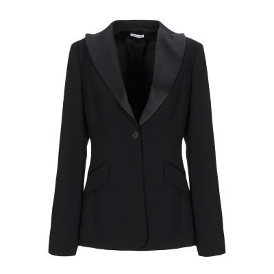 パロッシュ P.A.R.O.S.H. テーラードジャケット ブラック L ポリエステル 100% テーラードジャケット