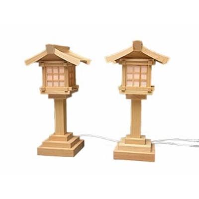 神棚 灯篭 LED LED灯籠 木曽桧コード式(大)