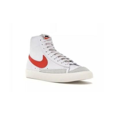 ナイキ NIKE ブレイザー Blazer Mid '77 Vintage Casual Shoesメンズ BQ6806-600 ミッド ヴィンテージ カジュアル スニーカー Red White