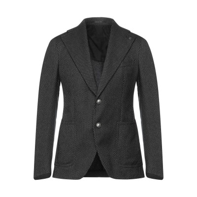 タリアトーレ TAGLIATORE テーラードジャケット ブラック 48 バージンウール 60% / コットン 33% / カシミヤ 7% テーラー