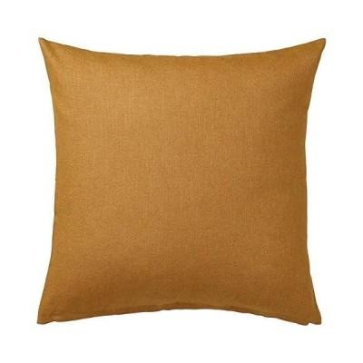 IKEA/イケア VIGDIS:クッションカバー50x50 cm ダークゴールデンブラウン(604.565.44)