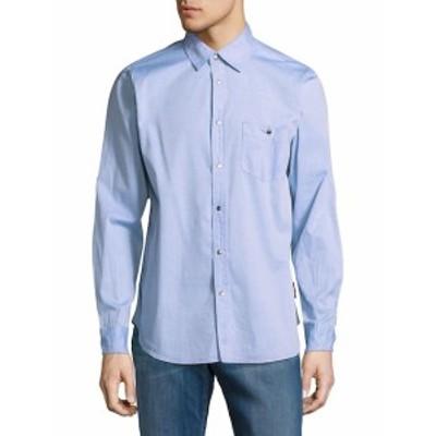 ハドソン メンズ カジュアル ボタンダウンシャツ Leeward Cotton Casual Button-Down Shirt