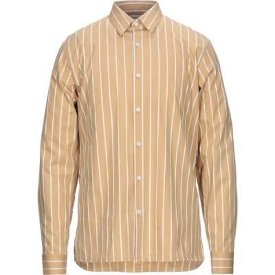サンドロ SANDRO メンズ シャツ トップス striped shirt Sand