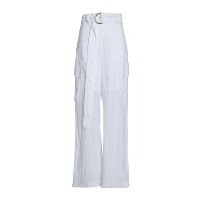 NINA RICCI パンツ ホワイト 36 レーヨン 68% / ナイロン 32% パンツ