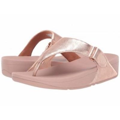 FitFlop フィットフロップ レディース 女性用 シューズ 靴 ヒール Sarna Toe Thong Sandal Rose Gold【送料無料】