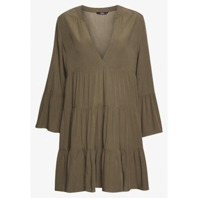 オンリー プティ ワンピース レディース トップス ONLNANCY ATHENA DRESS - Day dress - kalamata