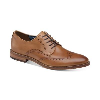ジョンストンアンドマーフィー オックスフォード シューズ メンズ Men's Haywood Wingtip Oxfords Tan
