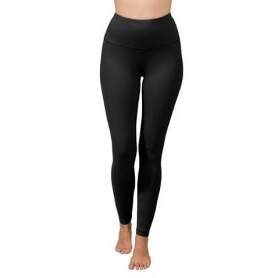 90ディグリー レディース カジュアルパンツ ボトムス Missy Interlink High Waist Leggings BLACK