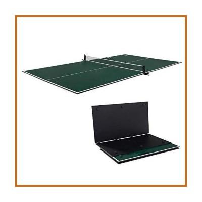 卓球  4 Piece Indoor Table Tennis Table Conversion Top for Billiard Table Most Any Air Hockey Table, Picnic Table,72 Inches or Larger Tabl