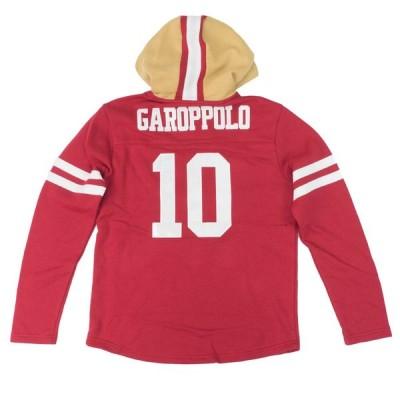 NFL パーカー ジミー・ガロポロ 49ers フーディー レッドゾーン プルオーバー プレイヤー【OCSL】