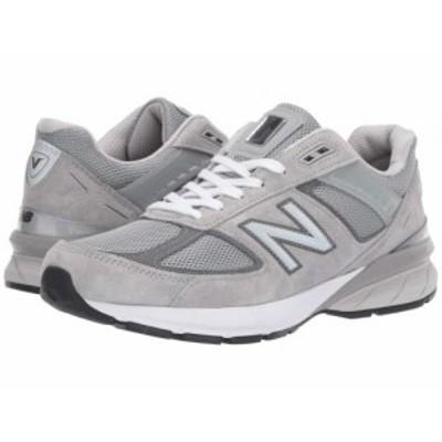 New Balance ニューバランス メンズ 男性用 シューズ 靴 スニーカー 運動靴 Made in US 990v5 Grey/Castlerock【送料無料】