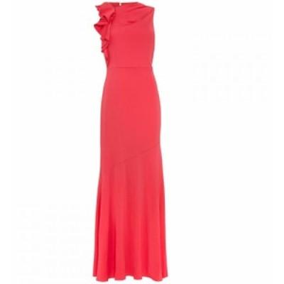 フェイズ エイト Phase Eight レディース ワンピース ワンピース・ドレス Brittany Frill Shoulder Dress Coral