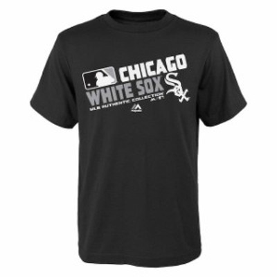 Majestic マジェスティック スポーツ用品  Majestic Chicago White Sox Youth Black Authentic Collection Team Choice T-