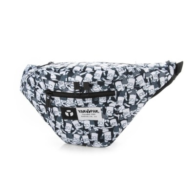 ヤックパック YAKPAK ヤックパック×シンプソンズ 限定コラボアイテム ボディバッグ ウエストバッグ (パターンB)