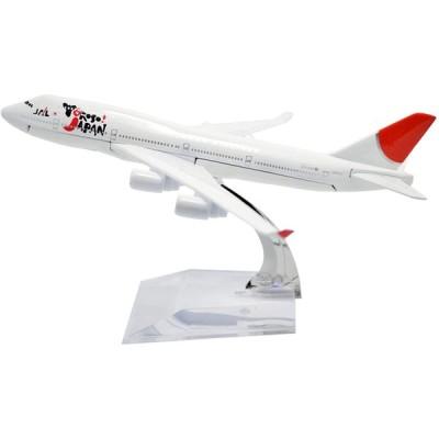 日本航空 ボーイング 747 B747 Japan Airline JAL 約1/400 スケール 模型 Yokoso Japan 全日空 エアバス