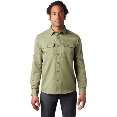 マウンテンハードウェア シャツ メンズ トップス Canyon Long-Sleeve Shirt - Men's Dark Army