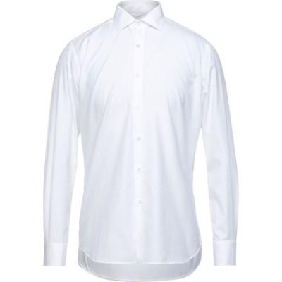 イングラム INGRAM メンズ シャツ トップス solid color shirt White