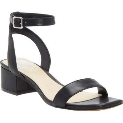 ヴィンス カムート Vince Camuto レディース サンダル・ミュール アンクルストラップ シューズ・靴 Jantta Ankle Strap Sandal Black Leather