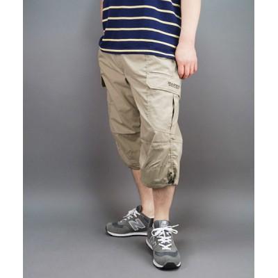 FUNALIVE / 【HANES】T/Cウエザー BIGサイズ 7分丈カーゴ ショートパンツ MEN パンツ > カーゴパンツ