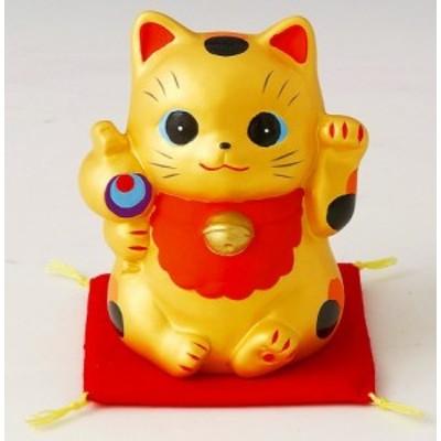 金運招き猫福槌 貯金箱