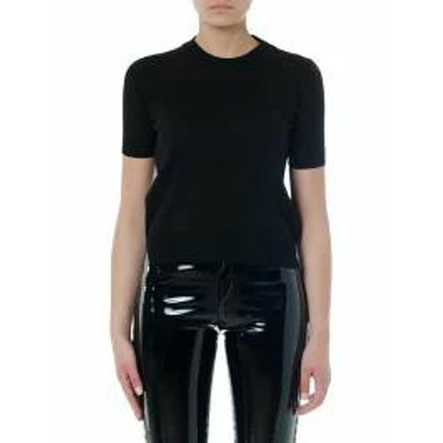 Maison Margiela レディースその他 Maison Margiela Black Cotton Iconic T-shirt Black