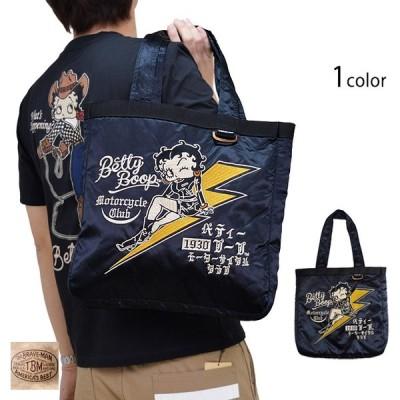 BR×BETTY スカトートバッグ The BRAVE-MAN BBB-2027 ザブレイブマン ベティーちゃん 刺繍 かばん 鞄 カバン