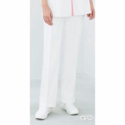 EH3773 ナガイレーベン Naway 女性用パンツ(白衣 医療用白衣 看護師用 ナース 白 ホワイト ナース