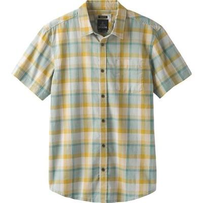 プラーナ Prana メンズ 半袖シャツ トップス Bryner Shirt - Standard Ashy