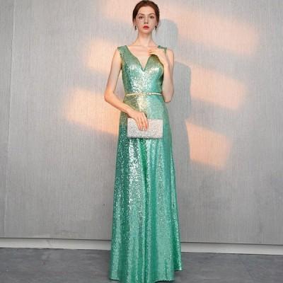 イブニングドレス Aライン ロングドレス カラードレス パーティードレス 結婚式 ウェディングドレス 二次会ドレス 大きいサイズ 演奏会 お花嫁ドレス 姫系