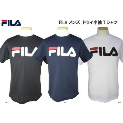 フィラ FILA メンズ ドライメッシュ グラフィック半袖Tシャツ 410-908 メール便ご利用可